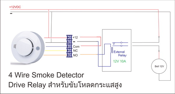 Smoke Relay Wiring on Camera Circuit Diagram