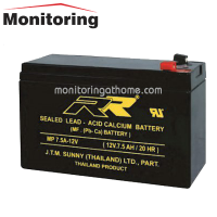 Battery 12V7.5Ah แบตเตอรี่เครื่องสำรองไฟ 12โวลท์ 7.5แอมป์