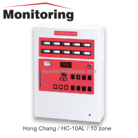 Fire Alarm Control Panel 10Zone