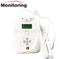 ตัวจับแก๊สรั่ว-ควันเสีย Carbon Monoxide+Gas Leakage Detector