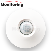 Wide angle PIR motion detector