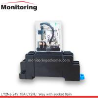 รีเลย์พร้อมซ๊อคเก็ต LY2NJ-24V 10A relay with socket 8pin